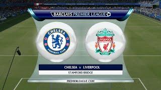 FIFA 16 - Chelsea vs. Liverpool @ Stamford Bridge