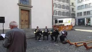 16.9.18: Ökumenischer Gottesdienst Bettag , Kappellpl. , Luzern