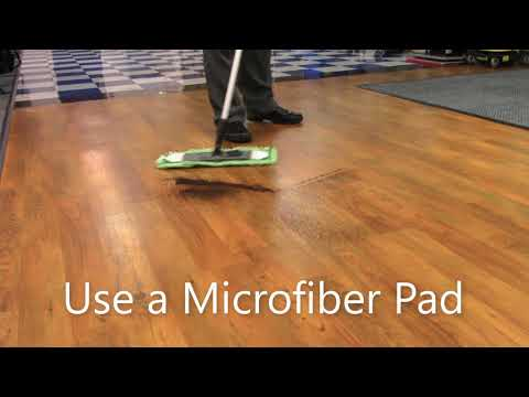 How to Dry Mop LVP Flooring