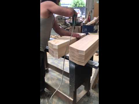 Parquetry table construction - part 1