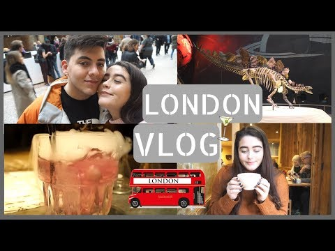 LONDON VLOG | Museums, Cereal Killer Cafe & Insane Cocktails!