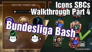Icons SBCs Walkthrough Part 4 | History Point SBC | FIFA MOBILE 20