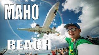 #19 Crazy Beach from the Movies. Maho Beach