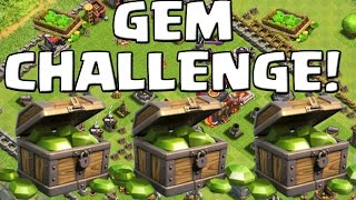 GEM CHALLENGE! || CLASH OF CLANS || Let's Play CoC [Deutsch/German HD+]