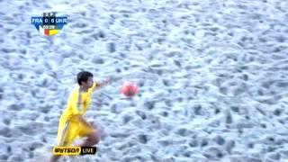 Франция - Украина 0:10. Пляжный футбол. Евролига 2013. Этап 1 (голы)