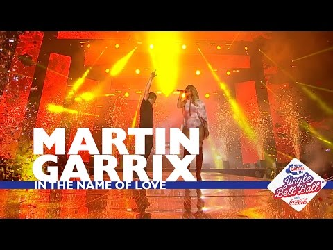 Martin Garrix ft Bebe Rexha - In The Name Of Love  At Capitals Jingle Bell Ball