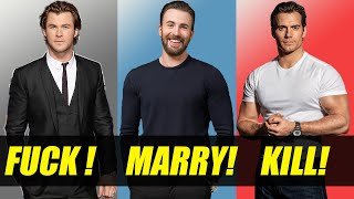 Fuck! Marry! Kill! - Actor Edition #1
