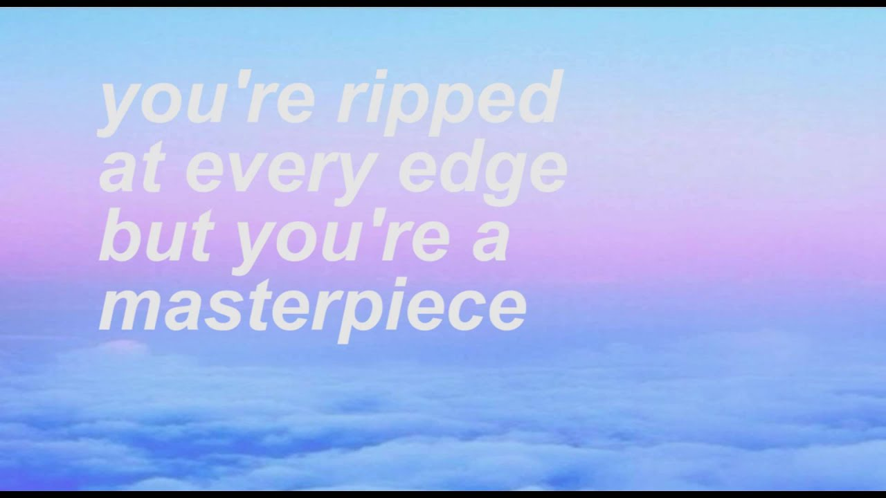 Halsey Wallpaper Quotes Colors Lyric Video Halsey Youtube