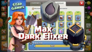 Clash of Clans- Maxing My Dark Elixer!