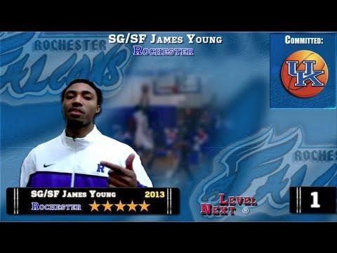 ESPN Top 100 (#6) Basketball  SG/SF James Young-Rochester
