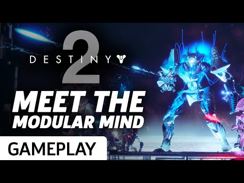 Meet The Modular Mind In The Destiny 2 Beta Strike Gameplay