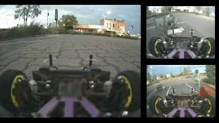 FPV Onroad Racing by VIDEO 1st test