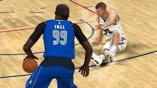 NBA 2K20 Tacko Fall My Career - Ankle Breaker on Jokic!