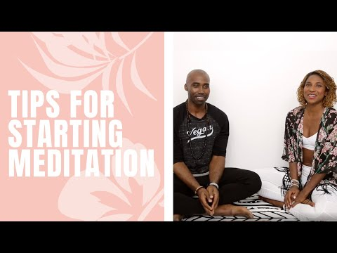 Tips for Starting Meditation with Keith Mitchell and Koya Webb