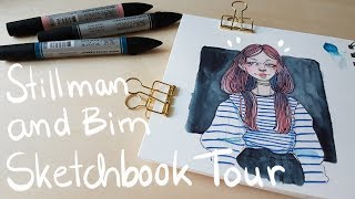 Stillman and Birn Sketchbook Tour