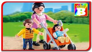 Playmobil Special plus 4782  Mama cu copiii la plimbare unboxing si review Playmobil Story  Bogdan`s