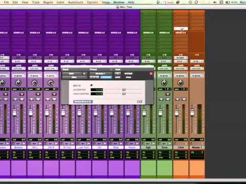 How To Create A Template In Pro Tools Youtube