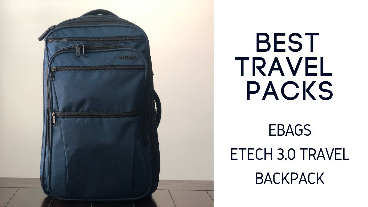 Best Travel Packs Ebags Etech 3 0 Carry On Backpack Review