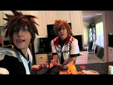 Cooking With Sora And Roxas