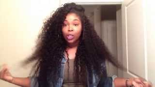 aliexpress   vip beauty hair brazilian deep curly initial review
