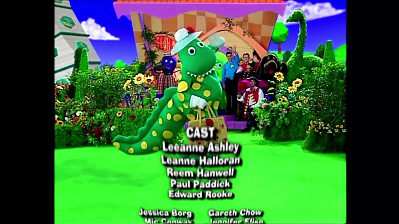 The Wiggles - Wiggly TV DVD Closing