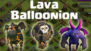 Clash of clans | How to attack using Lavaloonions