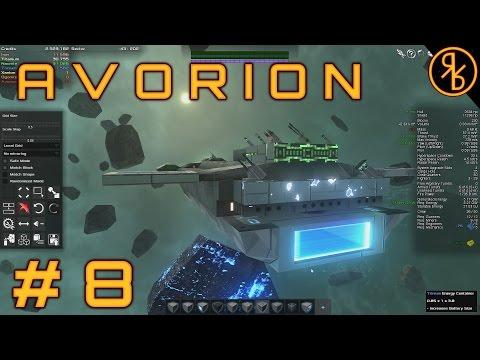 Avorion # 8   Wormhole to Trinium    Avorion Gameplay