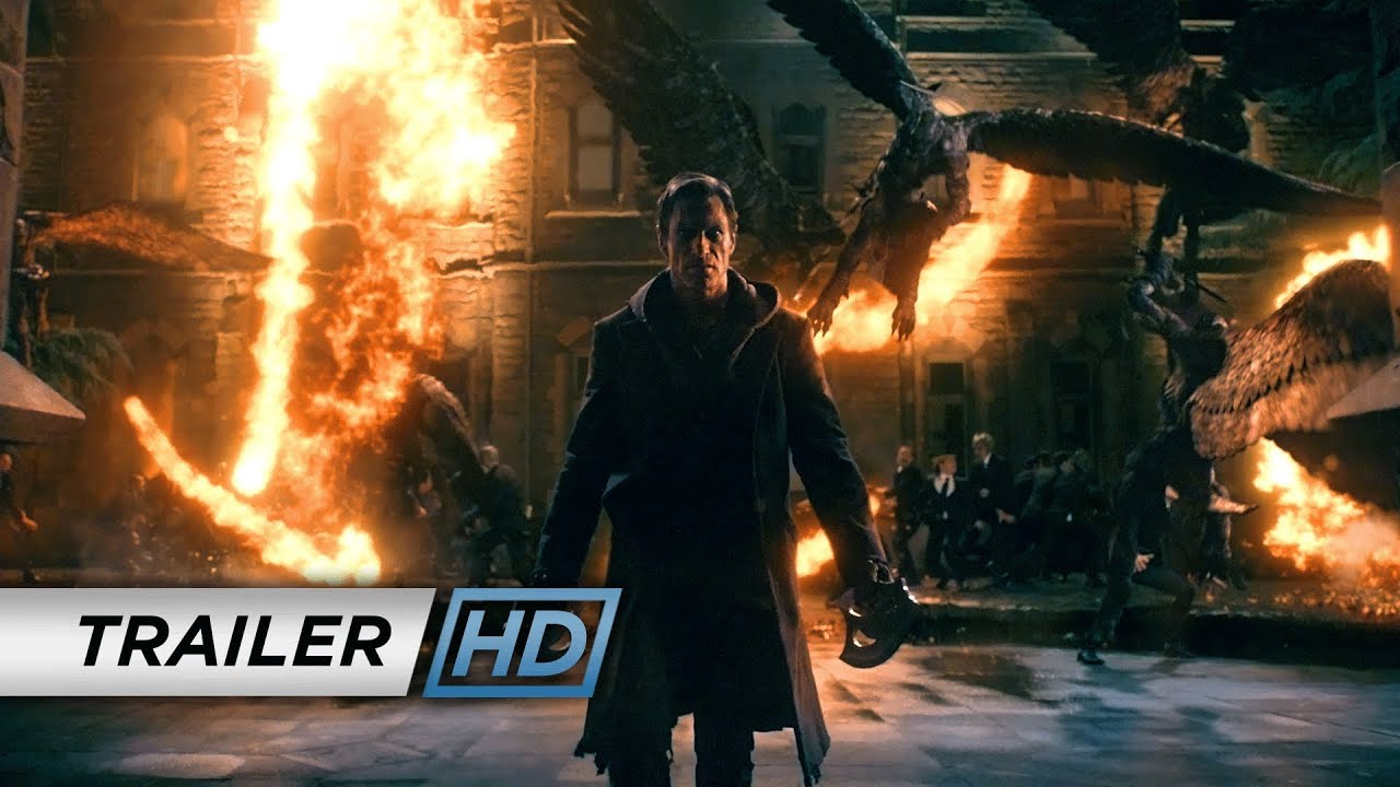 i, frankenstein (2014) - official trailer - youtube