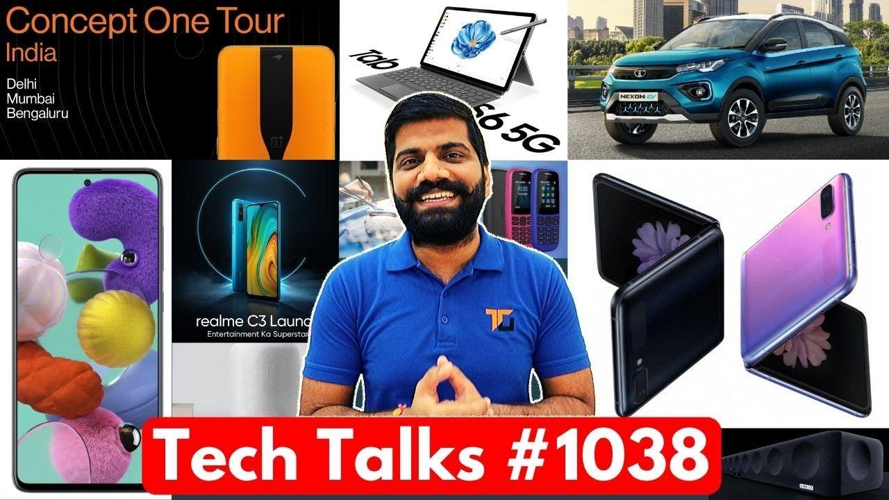 Tech Talks # 1038 - Vidéo S20 8K, OnePlus Concept One en Inde, Nokia 400, Realme C3 India Launch + vidéo