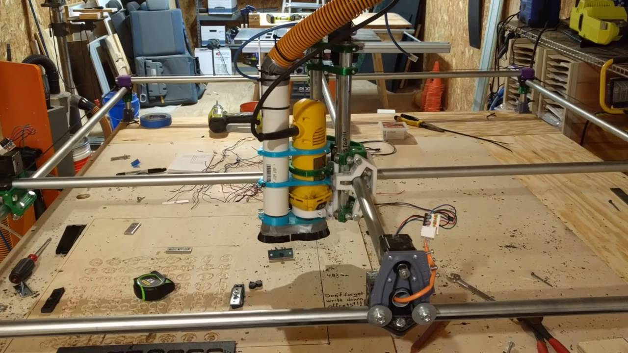 MPCNC Upgraded to a 4 foot cutting area