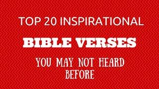 Top Inspirational Bible Verses Quotes