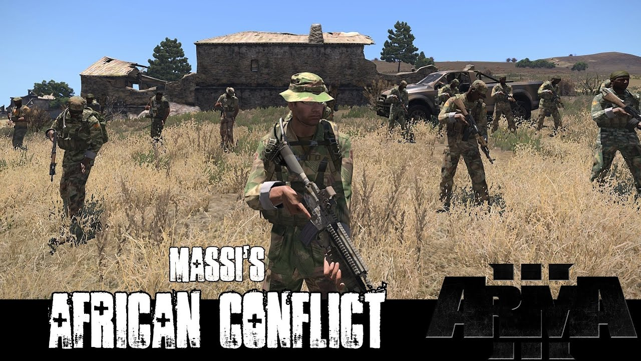 ArmA 3 Mods Massis African Conflict YouTube