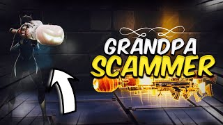 Grandpa Scammer Loses WATER JACK O LAUNCHER!! (Scammer Gets Scammed) Fortnite Save The World!