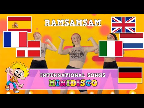 Children's Songs   RAMSAMSAM   Dance   Video   Mini Disco