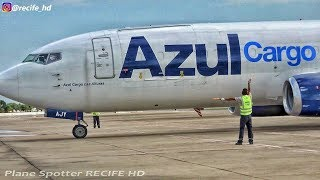 Gambar cover Pousos e Decolagens no Aeroporto RECIFE - #Decolagem do AZUL CARGO #61