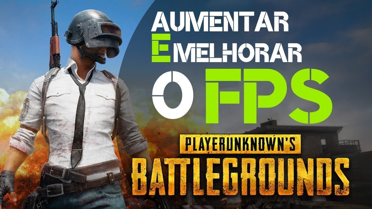 COMO AUMENTAR FPS NO PUBG STEAM E PUBG LITE PC FRACO