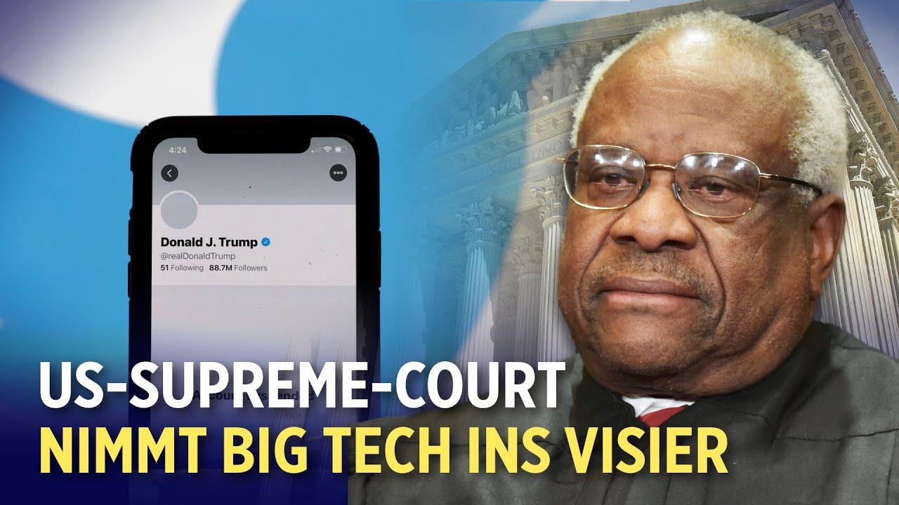 Grenzkrise in den USA: Zusatzpersonal wird eingesetzt   US Supreme Court nimmt Big Tech ins Visier
