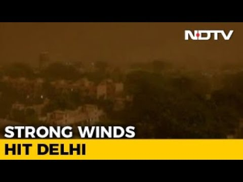 Rain, Dust Storm Hit Delhi With Strong Winds, 27 Flights Diverted Mp3