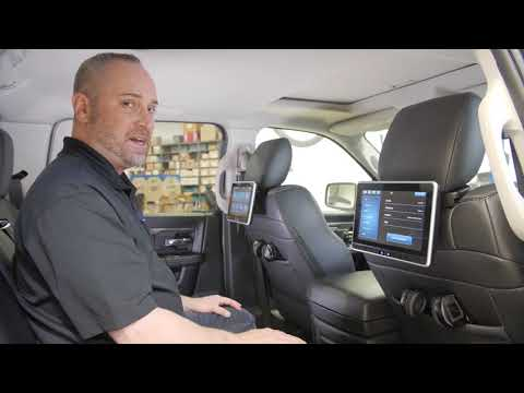VOXX Universal Seatback In Vehicle Entertainment System - Installation