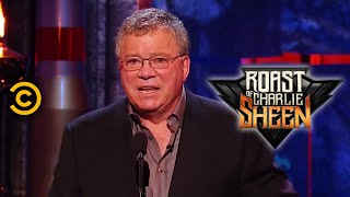 Roast of Charlie Sheen: William Shatner - Charlie & Women (Comedy Central)