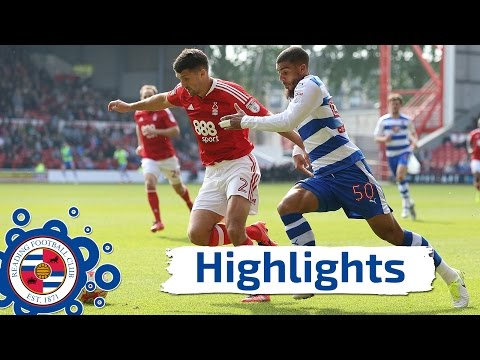 Nottingham Forest 3-2 Reading, Sky Bet Championship, 22nd April 2017 (2016/17 highlights) HD