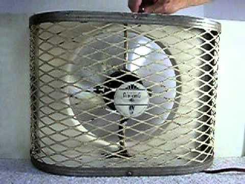 Vintage Berns Air King 10 Quot Window Fan Model Av 10 R Manual