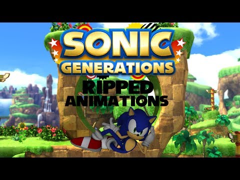 Animation Showcase - Sonic Generations Ripped Animations (720p HD)