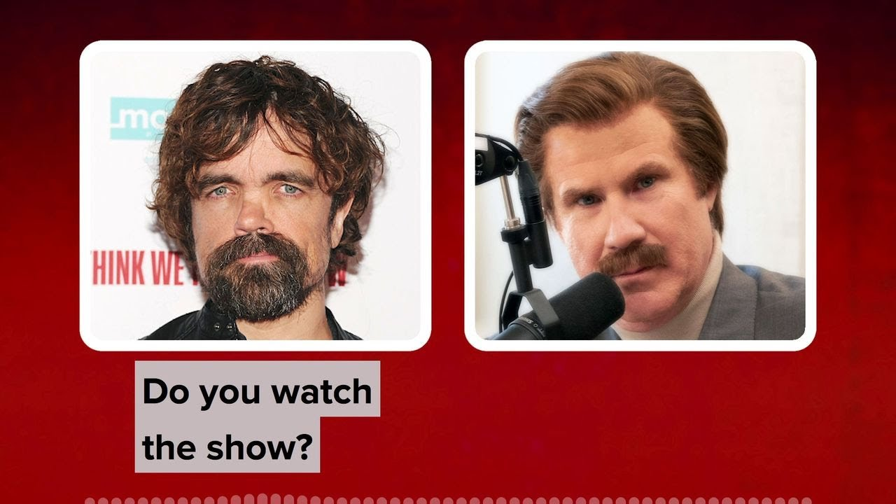 Peter Dinklage Chats to Ron Burgundy About Game of Thrones