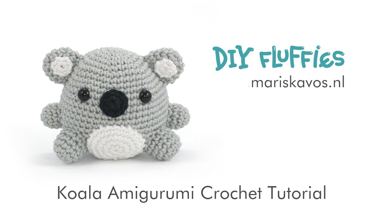 Amigurumi tiny koala crochet pattern - Amigurumi Today | 720x1280