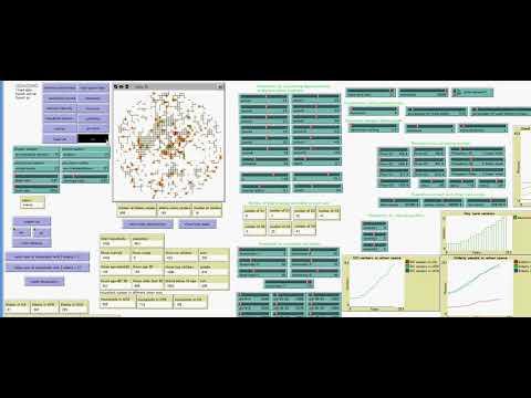 Urban simulation in urban planning lab, Kanazawa University