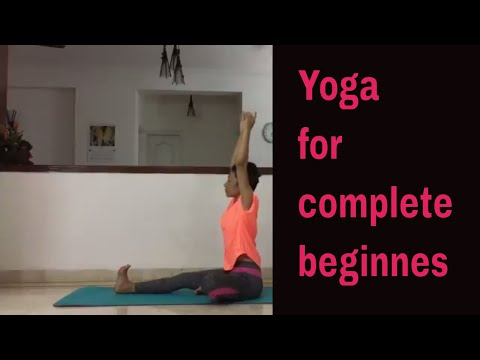 Yoga for complete beginners/ relaxation