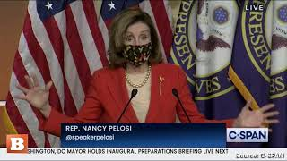 "Nancy Pelosi on Capitol Attack: ""We Really Lost Our Innocence"
