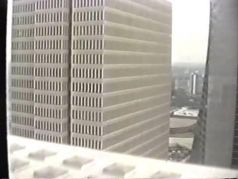 1993 Video : Otis Traction Elevator To Polaris @ Hyatt Regency Hotel Atlanta GA