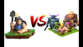 Max miner Vs Every single Going Troop | 1 vs 1 Instant Battle | Clash of clans